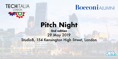TechItalia and Bocconi Alumni Pitch Night