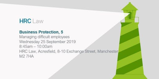 Business Protection Seminar - Managing difficult employees
