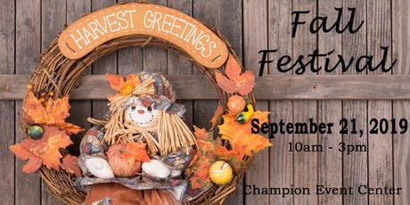 Fall Festival Craft & Vendor Show tickets