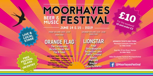 Moorhayes Beer and Music Festival 2019