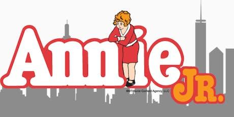"""""""Annie, Jr"""" - IYT Performance tickets"""