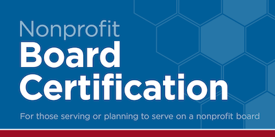 Nonprofit Board Certification