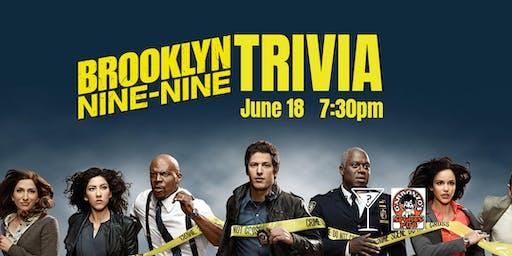Brooklyn 99 Trivia - June 18, 7:30pm - Garbonzos Sports Pub Polo Park