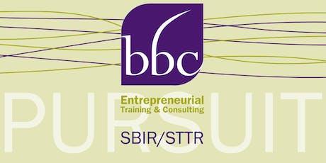 SBIR/STTR Proposal Prep for DOD tickets