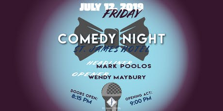 Comedy Night with Mark Poolos & Wendy Maybury  tickets