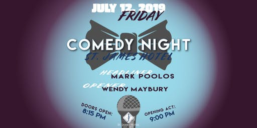 Comedy Night with Mark Poolos & Wendy Maybury