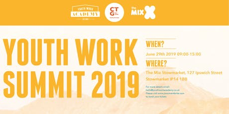 Youth Work Summit 2019 tickets