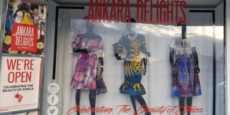 NOW OPEN!! Ankara Delights Boutique | African fashion, accessories, & more! tickets