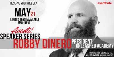 Avanti Speaker Series: Robby Dinero