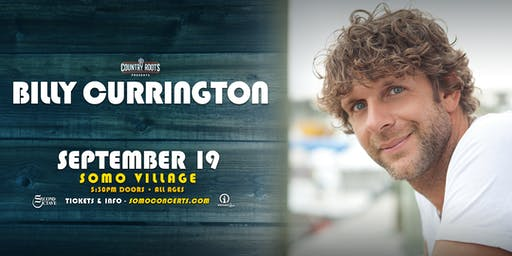 Billy Currington @ SOMO