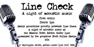 Line Check A Night Of Acoustic Music