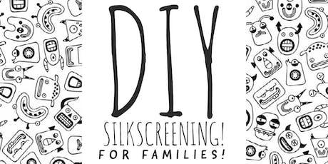 Silkscreening for Kids Workshop! tickets