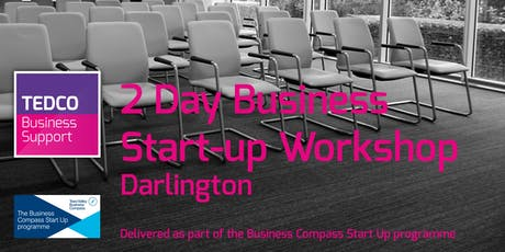 Business Start-up Workshop Darlington (2 Days) July tickets