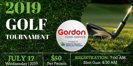 2019 Gordon Food Service Golf Tournament