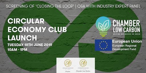 Circular Economy Club Launch - 18th June 2019