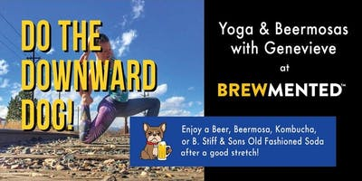 Yoga and Beermosas at Brewmented