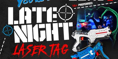 LATE NIGHT LASERTAG: SUMMER SERIES