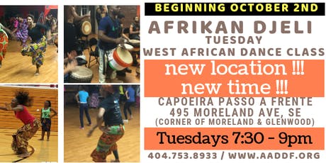 African Dance Class - Atlanta tickets