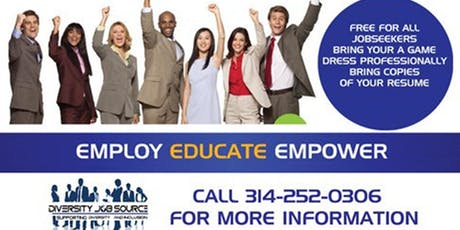 XXVII Annual Diversity Job Fair-STL tickets