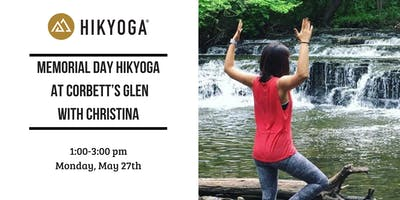 Memorial Day Hikyoga at Corbett's Glen with Christina