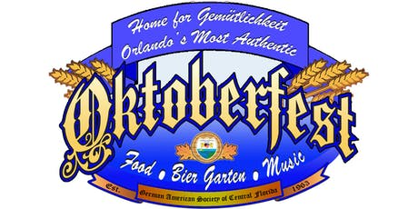 Orlando's Most Authentic Oktoberfest 2019 tickets