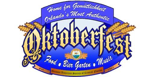 Orlando's Most Authentic Oktoberfest 2019