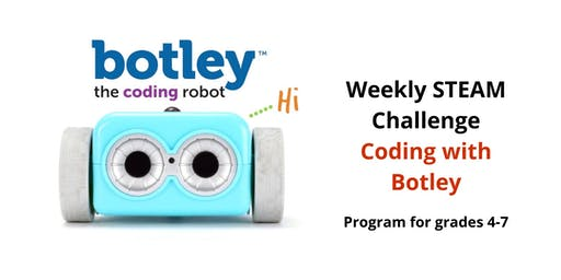 Weekly STEAM Challenge- Coding with Botley
