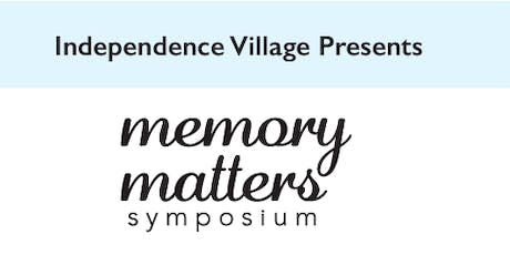 Independence Village of Midland Memory Matters Symposium tickets