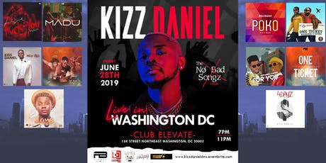 KIZZ DANIEL LIVE IN WASHINGTON DC (DMV) FRIDAY JUNE 28 tickets