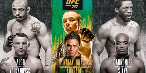UFC 237 at Humperdinks Brewpub