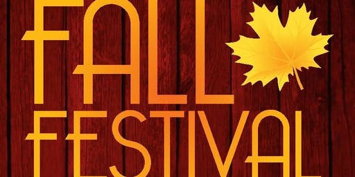 Fall Festival 2019 Exhibitor Registration