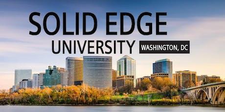 Solid Edge University- Washington, DC tickets