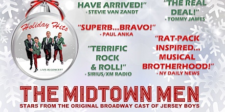 The Midtown Men - Stars from the Original Broadway Cast of Jersey Boys tickets