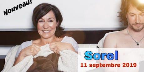 Le couple! SOREL 11 septembre 2019  Josée Boudreault tickets