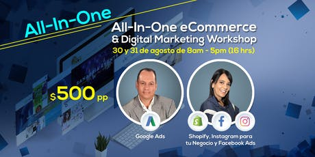 All-In-One E-commerce and Digital Marketing Workshop entradas