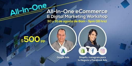 All-In-One E-commerce and Digital Marketing Workshop