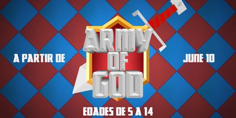 (Army of God) SegaKids Camp - Summer 2019 tickets