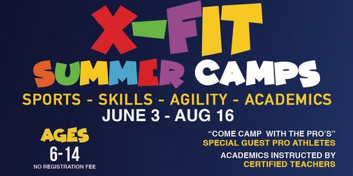 Summer Kids Camp with Pro Athletes