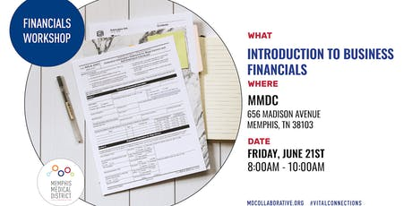 MMDC Summer Workshop Series: Introduction to Financials Workshop tickets