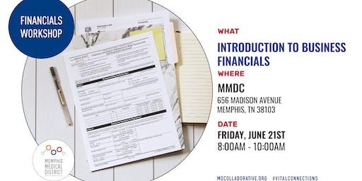 MMDC Summer Workshop Series: Introduction to Financials Workshop