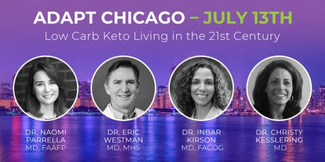 ADAPT CHICAGO - Low Carb Keto Living in the 21st Century tickets