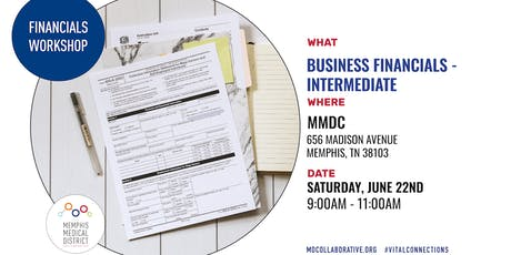 MMDC Summer Workshop Series: Intermediate Financials Workshop tickets