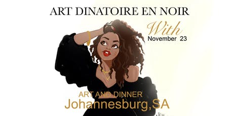 Art Dinatoire With Nicholle Kobi Johannesburg,SA 2019 tickets