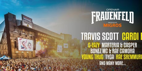 Openair Frauenfeld 2019 tickets