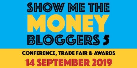 Show Me The Money Bloggers 5 & 2019 SHOMOs awards tickets