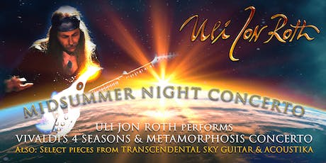 Uli Jon Roth presents Midsummer Night Concerto tickets