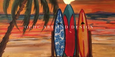 Painting by the Sea: Beach Scenes