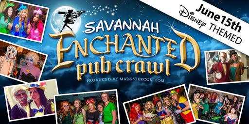 Enchanted Pub Crawl (Savannah, GA)