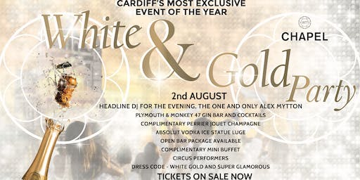 White & Gold Party