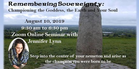Remembering Sovereignty: Championing the Goddess, the Earth and Your Soul tickets